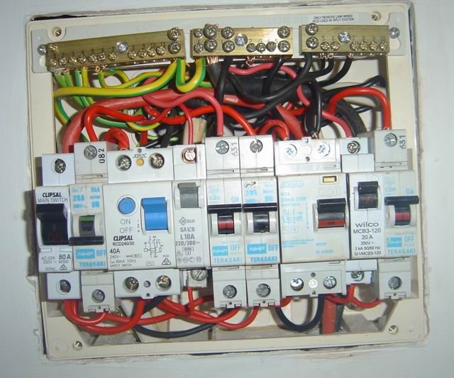 Inside The First Rather Full Switchboard